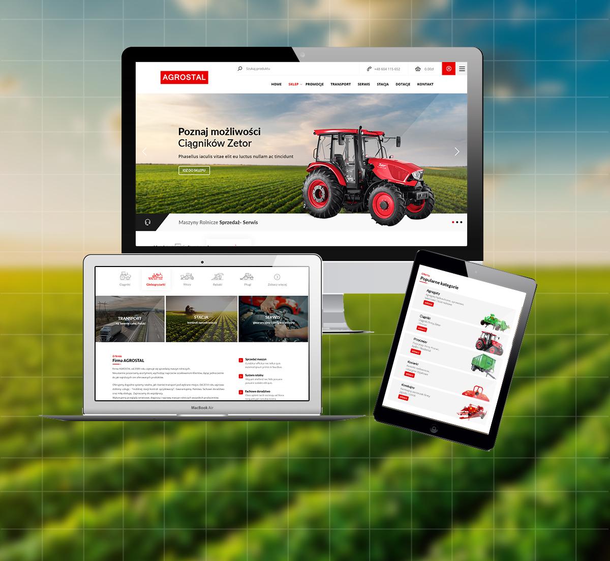 Sklep internetowy Agrostal