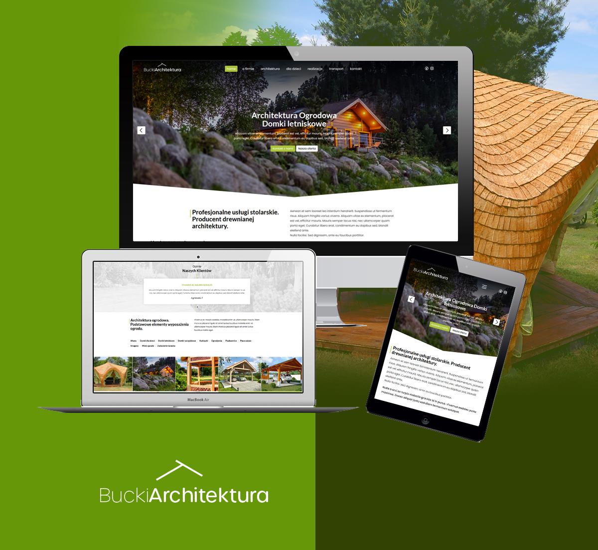 strona www architektura ogrodowa